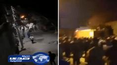 بالفيديو.. مضاربة في المقابر بسبب جثة متوفي بالفيروس