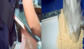 بالفيديو.. ضبط أكثر من 2.5 مليون حبة كبتاجون مخبأة في إرسالية أسقف مستعارة