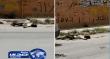 بالفيديو.. لحظة انهيار شاب مصاب بالفيروس في شوارع إيران