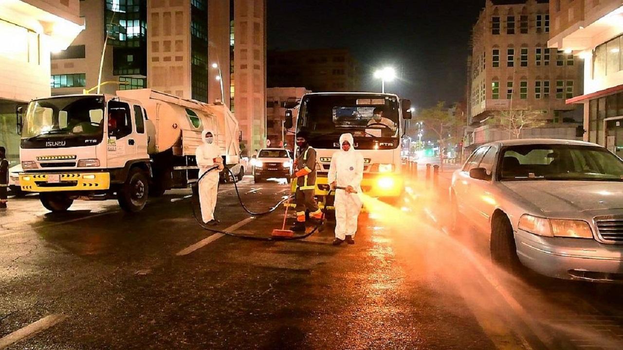 بالفيديو.. أمانة الشرقية تكثف من عمليات التعقيم لمواجهة الفيروس