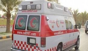 حادث مروع لإصطدام مركبة في حاجز خرساني بالطائف