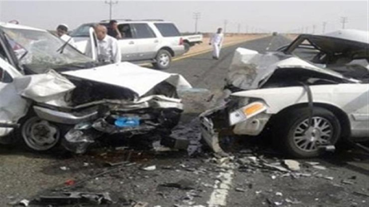 وفاة وإصابة 9 أشخاص في حادث تصادم بطبرجل