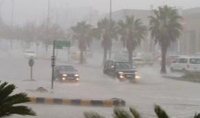 استمرار الأمطار الغزيرة على المنطقة الشرقية والقصيم