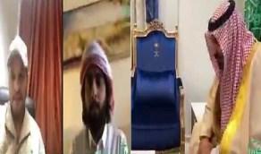 بالفيديو.. أمير نجران يهنئ المتعافين من فيروس كورونا
