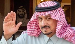"""صورة لأمير الرياض تُدحض أكاذيب """"الجزيرة"""" بشأن إصابته"""