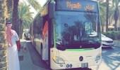 الإجراءات المطبقة على ركاب الحافلات منها: ترك الصف الأول من المقاعد فارغًا