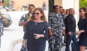 وزيرة الإعلام اللبنانية تخطف الأنظار