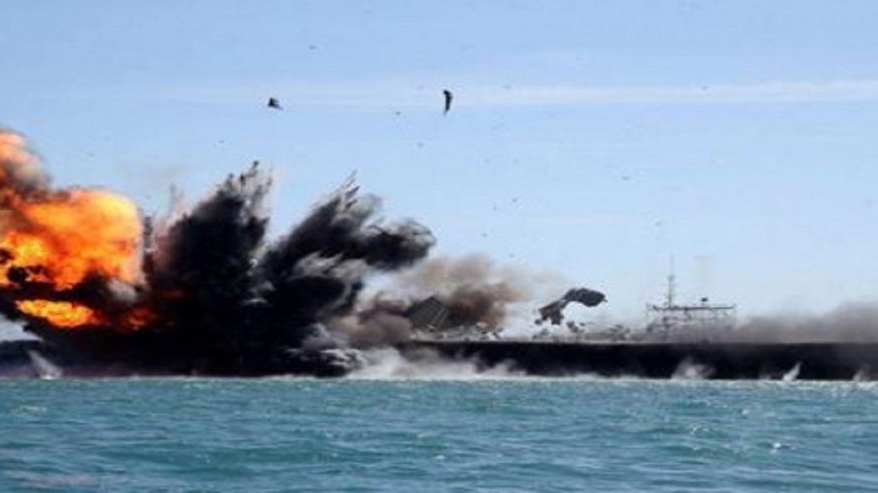 تفاصيل إغراق وتدمير فرقاطة تركية قرب السواحل الليبية