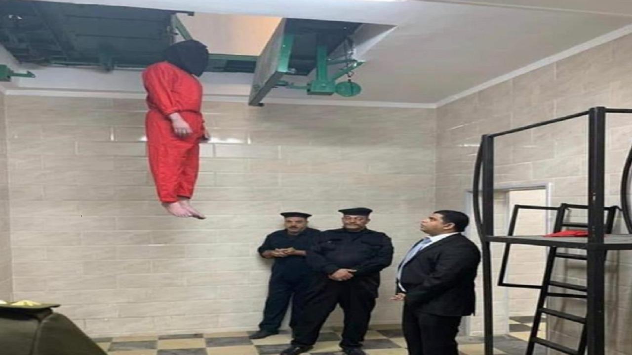الصورة الحقيقية لإعدام الإرهابي عشماوي