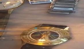 بالفيديو.. ساعة ذهب نادرة من هدايا الملك سعود بن عبد العزيز