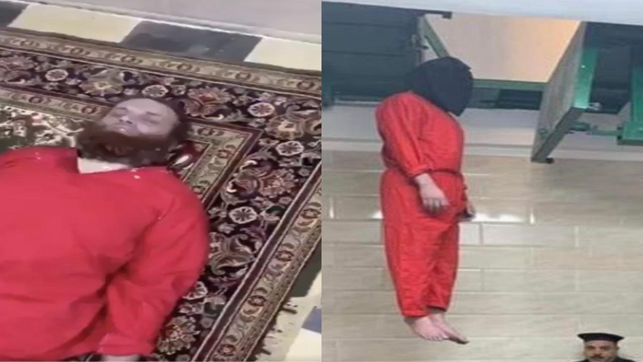 بالفيديو..لأول مرة مشاهد للإرهابي هشام عشماوي بعد تنفيذ الإعدام