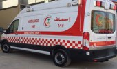 إصابة شخص في حادث اصطدام مركبة بحاجز خرساني بجدة