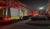 اندلاع حريق في مطبخ بملحق مبنى سكني في الخبر