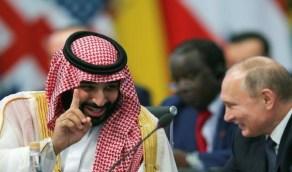 """ولي العهد و """"بوتين"""" يبحثان الوضع في سوق الطاقة العالمية"""