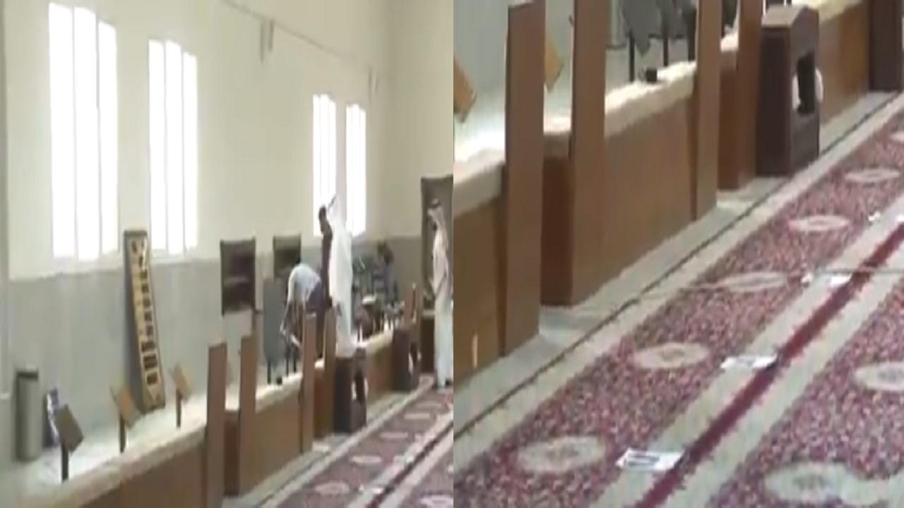 شاهد.. أبرز الإجراءات الوقائية المتخذة في مساجد وجوامع القصيم