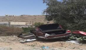 وقوع إصابات عديدة في حادثين منفصلين بالباحة