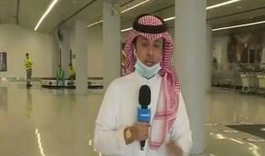 شاهد.. مغادرة أول طائرة مطار أبها متوجهة إلى الرياض