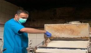بالصور.. بلدية القطيف تغلق مخبز في تاروت