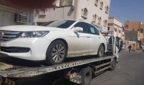 ضبط قائد مركبة مارس التفحيط في وادي وج بالطائف