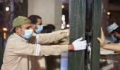 بالصور..فتح أبواب ساحات المسجد النبوي لاستقبال المصلين لصلاة الفجر