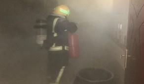 تسرب غاز يتسبب في حريق منزل بمحافظة رجال آلمع