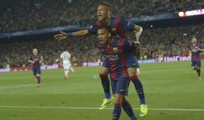 برشلونة ينشر تشكيلته التاريخية من البرازيليين دون رونالدو