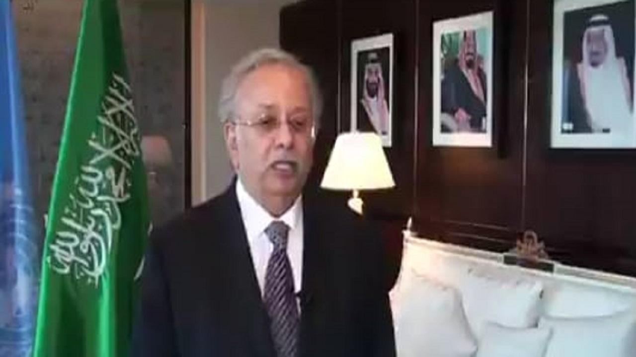 بالفيديو.. مندوب المملكة بالأمم المتحدة: السعودية تبذل الجهود لضمان استقرار الإقتصاد العالمي