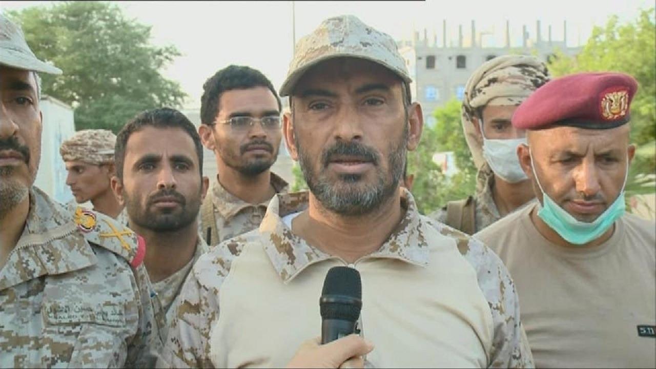 """رئيس أركان الجيش اليمني عقب نجاته من الاغتيال: """" موعدنا صنعاء """" (فيديو)"""