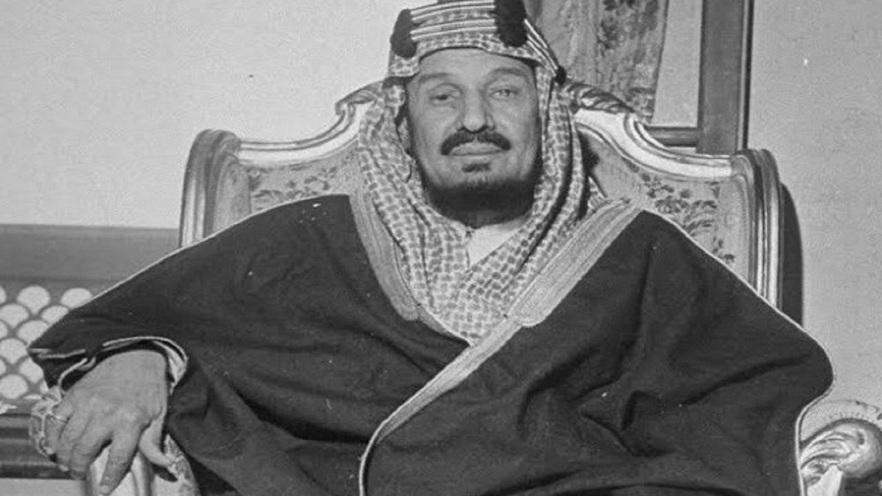 رسالة تاريخية من أمير ليبيا للملك عبد العزيز لموقفه في الدفاع عنها عام 1945