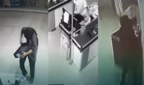 بالفيديو.. القبض على شاب سرق نحو 300 ألف من البنوك والمراكز التجارية بالرياض