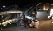 حادث مروري على طريق الهمجة في الأفلاج