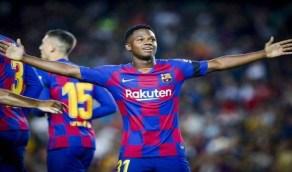 """برشلونة يحسم موقفه من """"أنسو فاتي"""""""