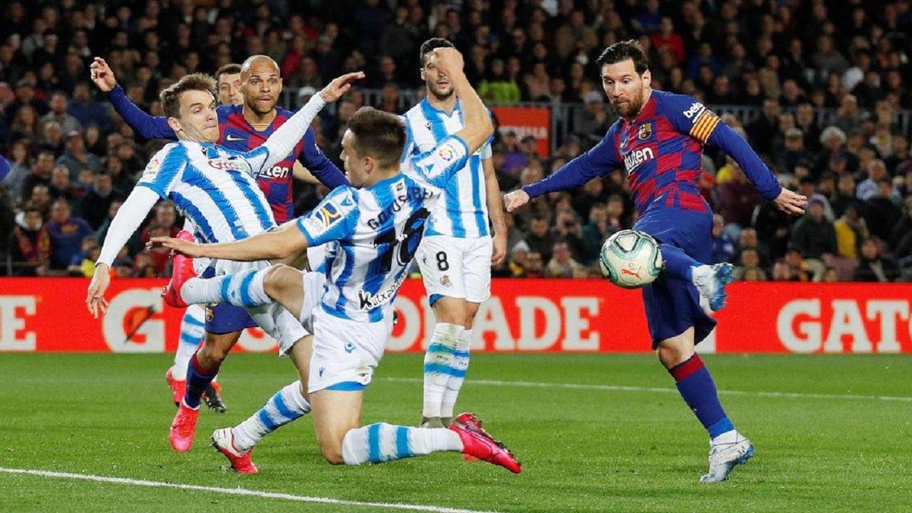 مباراة ديربي تفتتح استئناف الدوري الإسباني