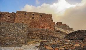 بالصور.. قصة القرية المبنية من الحجارة في الباحة