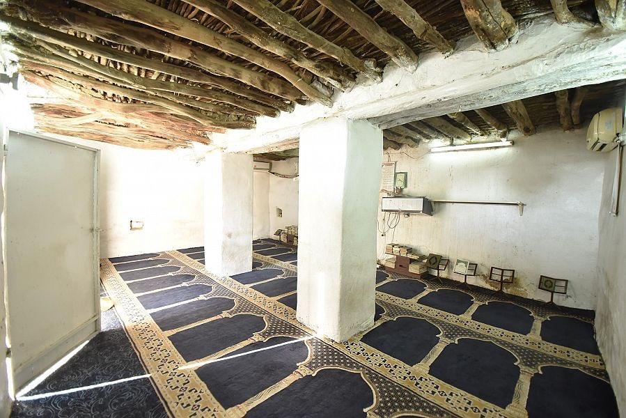 صورة نادرة لمسجد سليمان التاريخي بشرق الطائف