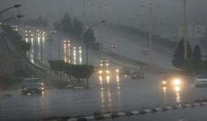 أمطار الخير تهطل على الطائف