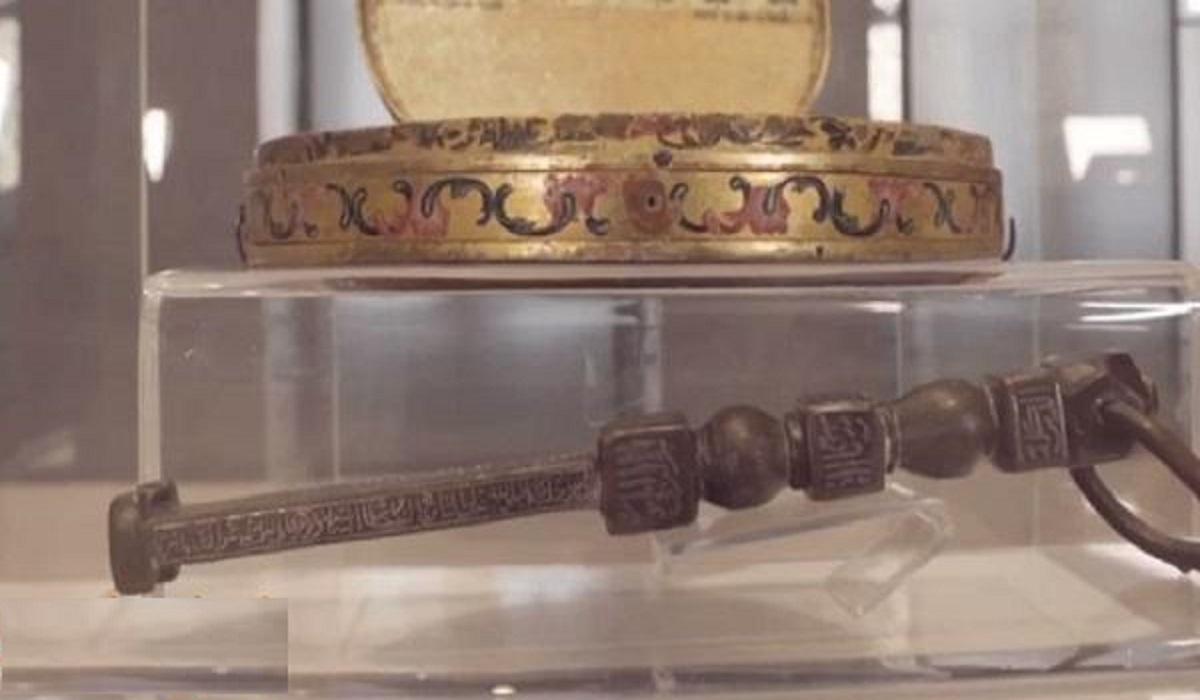 صورة نادرة لأقدم نموذج من مفاتيح الكعبة المشرفة