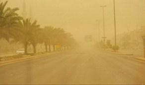 «الأرصاد»: رياح نشطة وأتربة مثارة على منطقة نجران
