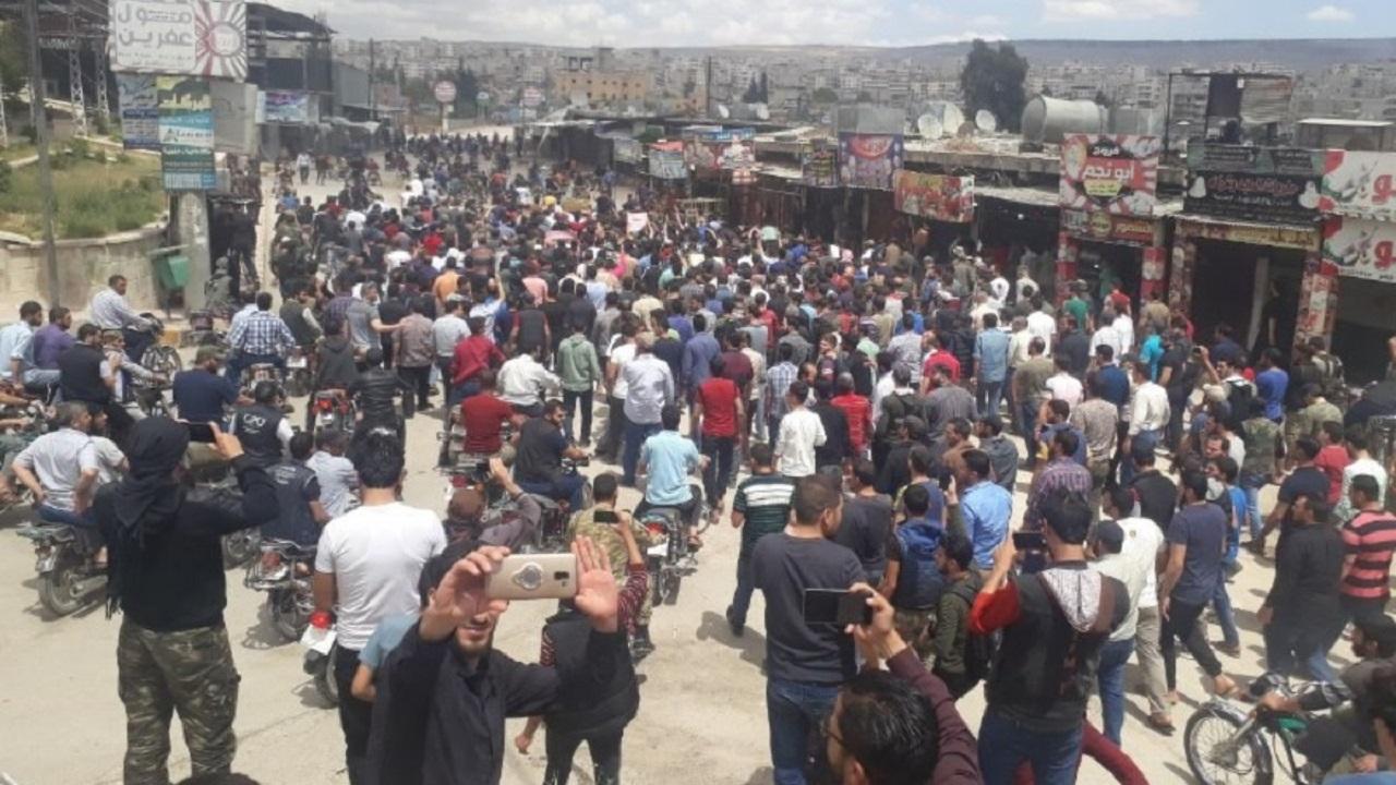 شاهد.. غضب بعد العثور على نساء عاريات بمعتقلات تركيا في عفرين