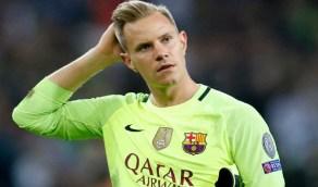 """برشلونة يصدم حارسه """"تير شتيجن"""" و""""تشيلسي"""" يراقب"""