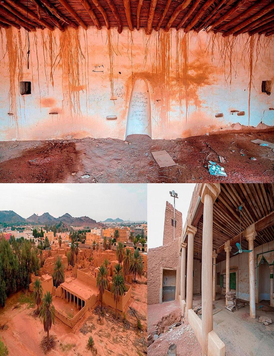 مسجدا الجراد وقفار من أقدم المساجد التاريخية في حائل