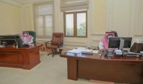 منسوبو وزارة الرياضة يعودون للعمل في المكاتب وسط إجراءات وقائية (صور)
