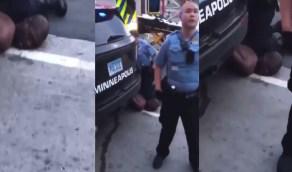 بالفيديو.. شُرطي يُعذب رجلا أسود البشرة حتى الموت