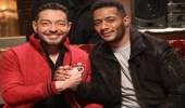 شاهد.. أحمد زاهر يتصالح مع محمد رمضان في زفاف «البرنس»