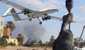 بالصور.. طائرات تركية تدخل المجال الجوي الليبي دون صفة