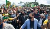 تصرف جنوني من رئيس البرازيل رغم ارتفاع الإصابات
