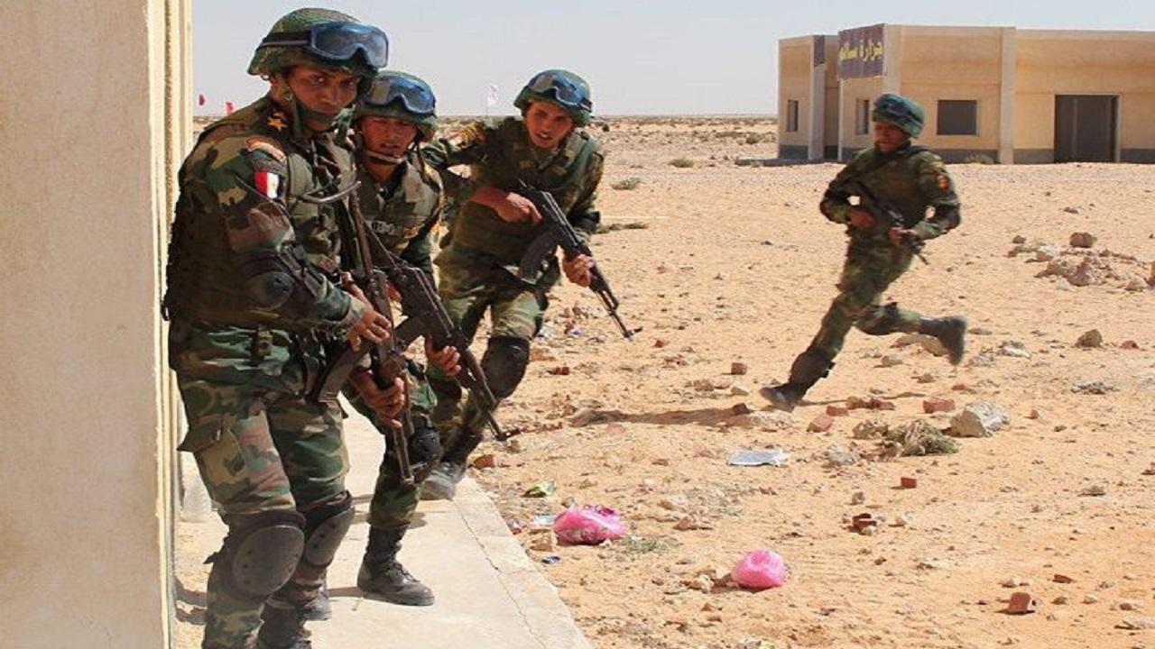 هلاك 21 إرهابيا بعمليتين نوعيتين في شمال سيناء