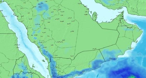 «الحصيني» يتوقع هطول أمطار متفاوتة وحبات برد على عدة مناطق