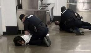 بالفيديو.. سبب صادم لاقتحام أحد المشردين لبنك