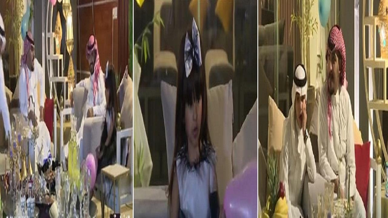بالفيديو.. احتفال مبهر بعيد الفطر رغم كورونا بمنزل مواطن في حائل